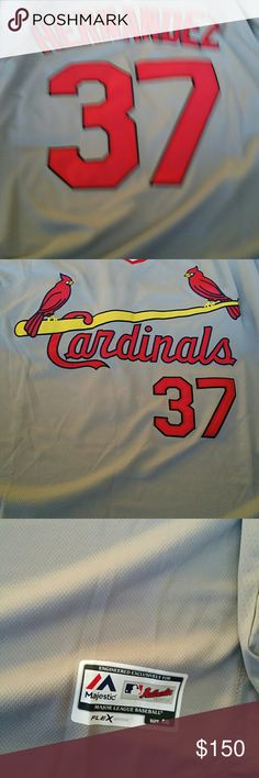 Baseball jersey St Louis  Cardinals Keith Hernandez game jersey  size 2 xl Other