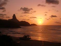 Sunset in Fernando de Noronha