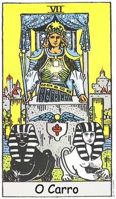 The origins of the Tarot are surrounded with myth and lore. The Tarot has been thought to come from places like India, Egypt, China and Morocco. Others say the Tarot was brought to us fr Major Arcana Cards, Tarot Major Arcana, Ivan Cruz, The Chariot Tarot, Rider Waite Tarot Cards, Tarot Waite, Rose Croix, Tarot Gratis, Tarot Decks