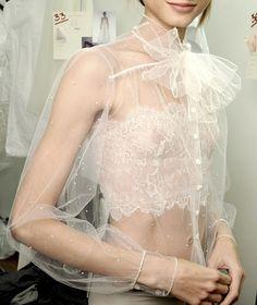 Delicate lace!