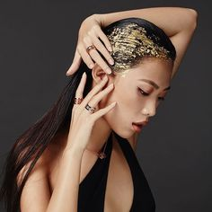 Late visionary architect Zaha Hadid leaves her mark on the BVLGARI B.Zero1 Design Legend collection worn here by @shir.oh.shir. Hit the link in our bio for more. @bulgariofficial #bulgari #Bzero1DesignLegend #DesignLegend #shirchong #zahahadid #ellemalaysia  via ELLE MALAYSIA MAGAZINE OFFICIAL INSTAGRAM - Fashion Campaigns  Haute Couture  Advertising  Editorial Photography  Magazine Cover Designs  Supermodels  Runway Models