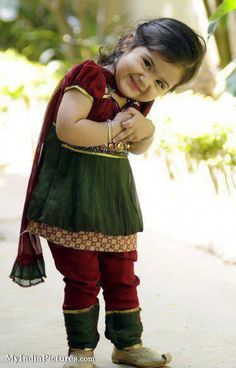 Cute lovely sweet Indian baby girl