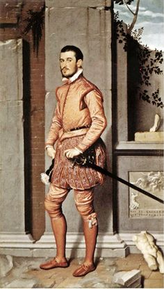 Retrato de un caballero español, siglo XVI.