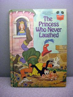 1974 The Princess Who Never Laughed Vintage Disney Book, $6.00