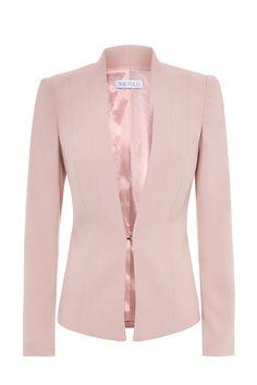 Le Marais Tuxedo Jacket Blush Pink