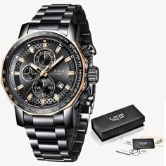 Relogio Masculino LIGE New Sport Chronograph Mens Watches Top Brand Luxury 16