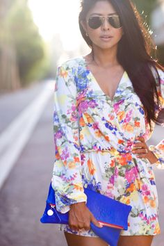 floral rompers! my spring obsession! AVAILABLE NOW! #shopdailychic
