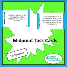 This set of task cards is made up of 4 different groups of 5 cards:Set 1…