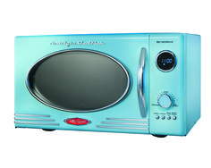 """Microwave for Camper Trailer ~ Vintage look by """"Nostalgia Electronics Retro Series"""""""