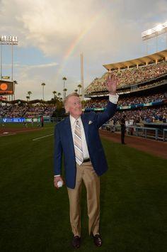 Vin Scully , Dodger Announcer!