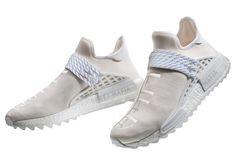pretty nice 20b32 d0298 Prime Chaussures FemmeHomme Pharrell x Adidas NMD Human Race Gris Blanche  AC7031 Pas Cher