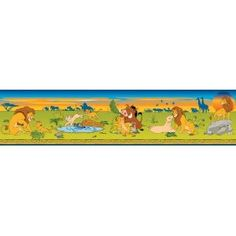 xl 6x10 wall mural disney the lion king characters movie