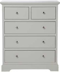Buy Heart of House Ryebourne 3+2 Drawer Chest - Ivory at Argos.co.uk - Your Online Shop for Chest of drawers.