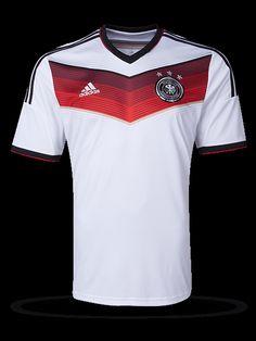 b7b6a660f1 Camiseta de local de Alemania 2014