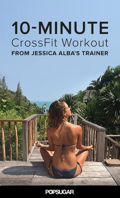Jessica Alba's Bikini-Body Secret: CrossFit