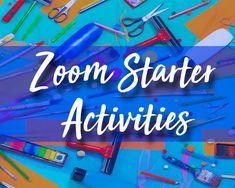 These ideas are all easy art starter activities for zoom. Many of us are zooming away every lesson and it's good to have some new ideas to keep things fresh and students engaged. Simple Art, Easy Art, Art Analysis, Cult Of Pedagogy, Descriptive Words, Quick Draw, High School Art, Background Pictures, Teaching Art