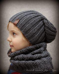 Knit Hat For Men, Knitted Hats Kids, Baby Hats Knitting, Arm Knitting, Baby Knitting Patterns, Crochet Patterns, Crochet Beanie Pattern, Crochet Motif, Crochet Hats