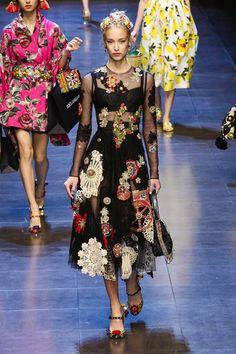 Dolce & Gabbana Ready To Wear Spring Summer 2016 Milan