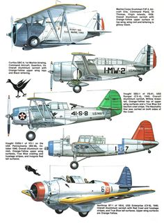 Weapons and Warfare throughout history and the analysis of doctrine, strategy and tactics. Grumman Aircraft, Navy Aircraft, Ww2 Aircraft, Aircraft Carrier, Military Aircraft, Aircraft Images, Heroes And Generals, Aircraft Painting, Ww2 Planes