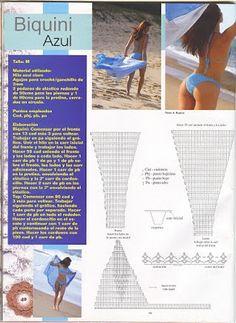 Graphics and Crochet: bikinis