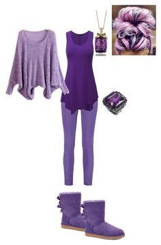 """Purple #2"" by jbird5601 ❤ liked on Polyvore featuring Emilio Pucci, UGG Australia, LeVian and Doublju"