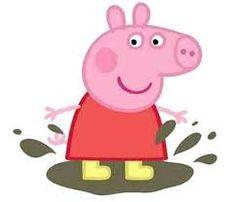 Resultado de imagen de dibujos cerdo Peppa