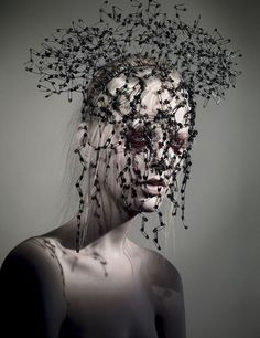 Celebrities who wear, use, or own Bob Recine Safety Pins Headpiece. Also discover the movies, TV shows, and events associated with Bob Recine Safety Pins Headpiece. Dark Fashion, Fashion Art, Fashion Today, Gif Kunst, Art Photography, Fashion Photography, Artistic Photography, Editorial Photography, Body Adornment