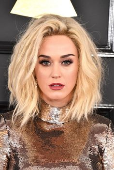 Bon Appetit! Katy Perry's Hair History: 2017