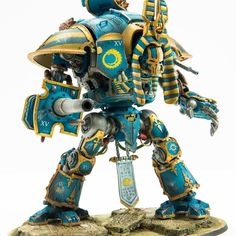 Thousand Sons Most Decorated Titan: Conversion Corner - Spikey Bits