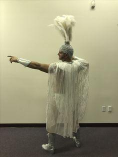 Showgirl gladiator back