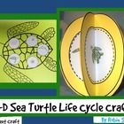Create a 3-D Sea Turtle craft or a cut and paste turtle life cycle craft that also teaches the life cycle of turtles$.
