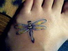 Dragonfly Tattoo by rachelm1981, via Flickr