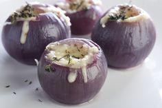 Stuffed Red Onion Appetizer