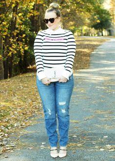 Kate Spade Mon Amour Distressed Boyfriend Jeans Jimmy Choo Strappy Pumps