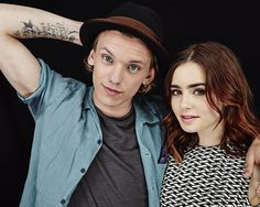 The Slanted talks with Lily Collins and Jamie Campbell Bower of 'THE MORTAL INSTRUMENTS'