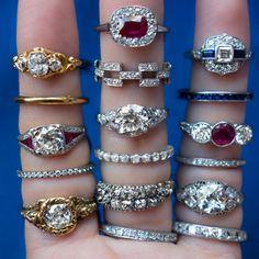 Vintage Engagement Rings | Erstwhile