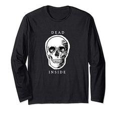 Dead Inside Skull Long Sleeve T-Shirt