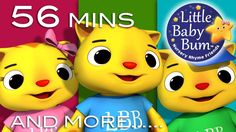 Three Little Kittens | Plus Lots More Nursery Rhymes | 56 Minutes Compil...