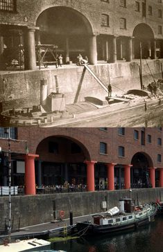 """""""Albert Dock workers, and Liverpool Docks, Liverpool History, Liverpool Home, Interesting Buildings, Places Of Interest, Old Photos, Shirley Valentine, Manchester, The Good Place"""