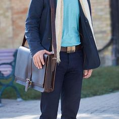 This fall, be ready for anything. Looking for a place to start? Try the Eco-leather Briefcase and Chenille Fringed Harvest Scarf. Fair Trade Fashion, Ethical Clothing, Leather Briefcase, Harvest, Fall, Clothes, Style, Ethical Fashion, Leather Folder