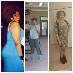 #motivationmonday my.. own... Damn.. self ! Listen when people say #fckthescale  this is the reason why !!! All 3 pics I was 208 lbs.  The one on the left was today 4 years ago I lived a #lowcarb #lifestyle and did manly #cardio I wore a size 10 dress. Med top size 12 pants.. the middle one was June 12th 2014.. I wore a size small top size 10 pants and size 8/10 dress.. I kept a lower carb diet #lifted heavy #weights not much #cardio because I was coming off a back injury !!the last pic was Dec 30 13.. my 27th birthday I wore a large top size 14 pants 14 dress or a large dress.. I was not working out at ALL. I was on that #newgradnurse diet plan.. drink a protein shake and pray it last your whole shift.. imma lean it out again it\'s time to quit playing around with it and be consistent... #sisfixyashiit #workout #weightloss #fatloss #wls #vsg #lowcarb #highprotien #vsgbabe #fattofit #nomediocre #pushthrough #fightforit #toobusytobullshit #toofocusedtofckaround #fckbeingfat #keto