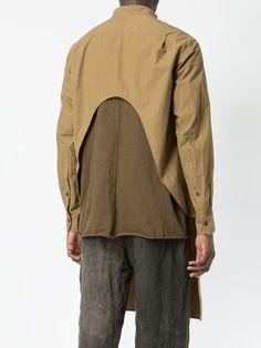 Ziggy Chen longline shirt