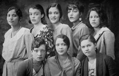 Pyramid Club, Alpha Chapter, Howard University, 1931.