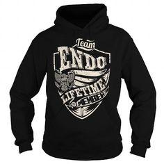 I Love Last Name, Surname Tshirts - Team ENDO Lifetime Member Eagle T shirts