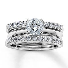 enhancer wedding band but have the engagement ring band match the enhancer - Wedding Rings Jared