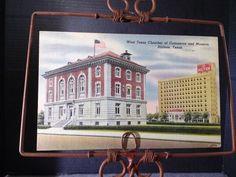 Post Card, W. Texas Chamber of Commerce and Museum, Abilene, TX. Pub: Lemon 1944