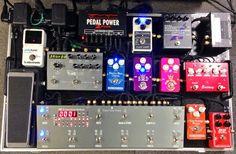 Twitter / zezehiroyuki: The new pedalboard!! ...