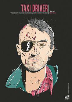Taxi Driver - movie poster - Matu Santamaria