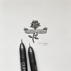 #rose #art #illustration by Sam Larson