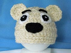 Polar Bear!!!  #crochet #baby